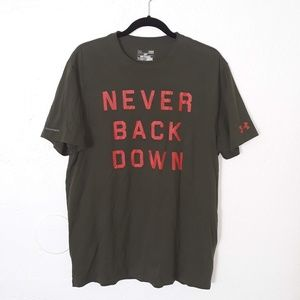 Under Armour Never Back Down T Shirt